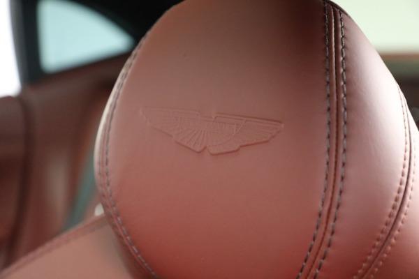 New 2021 Aston Martin DBX for sale $200,686 at Bugatti of Greenwich in Greenwich CT 06830 22