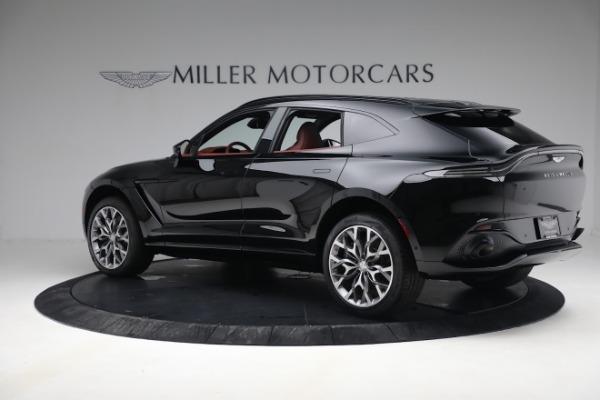 New 2021 Aston Martin DBX for sale $200,686 at Bugatti of Greenwich in Greenwich CT 06830 3