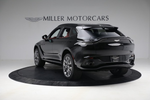 New 2021 Aston Martin DBX for sale $200,686 at Bugatti of Greenwich in Greenwich CT 06830 4