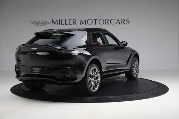 New 2021 Aston Martin DBX for sale $200,686 at Bugatti of Greenwich in Greenwich CT 06830 6