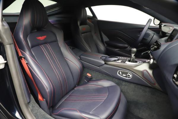 New 2021 Aston Martin Vantage for sale $189,686 at Bugatti of Greenwich in Greenwich CT 06830 21