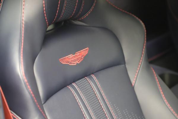 New 2021 Aston Martin Vantage for sale $189,686 at Bugatti of Greenwich in Greenwich CT 06830 22