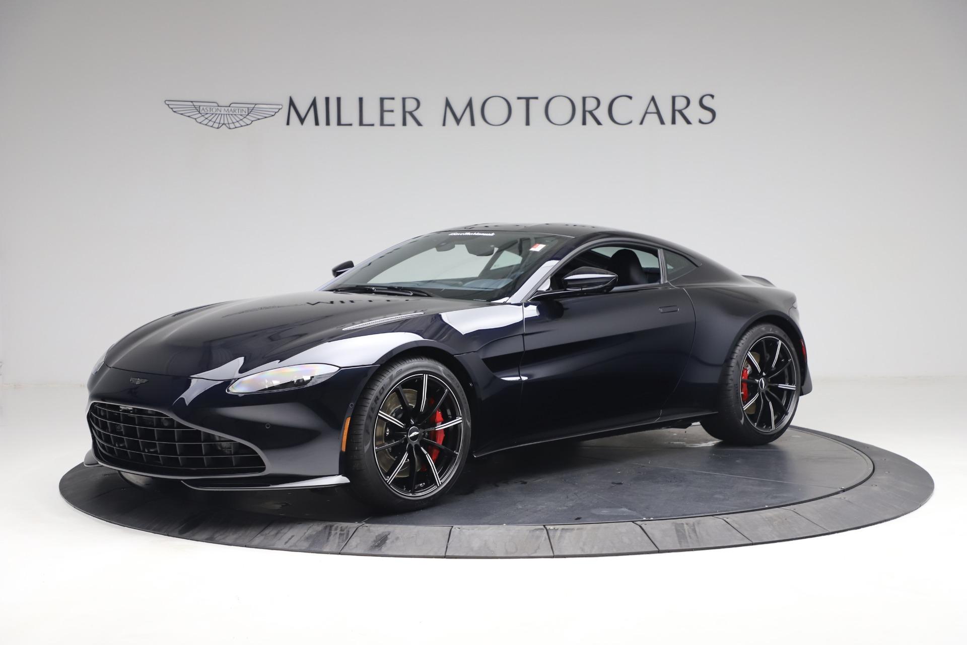 New 2021 Aston Martin Vantage for sale $189,686 at Bugatti of Greenwich in Greenwich CT 06830 1