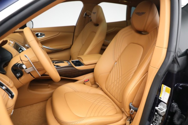 New 2021 Aston Martin DBX for sale $209,586 at Bugatti of Greenwich in Greenwich CT 06830 15