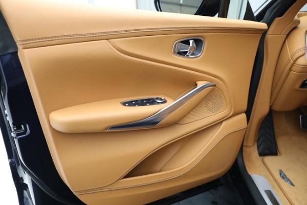 New 2021 Aston Martin DBX for sale $209,586 at Bugatti of Greenwich in Greenwich CT 06830 16