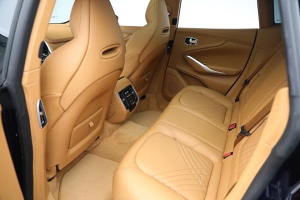New 2021 Aston Martin DBX for sale $209,586 at Bugatti of Greenwich in Greenwich CT 06830 17