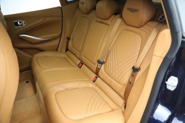 New 2021 Aston Martin DBX for sale $209,586 at Bugatti of Greenwich in Greenwich CT 06830 18