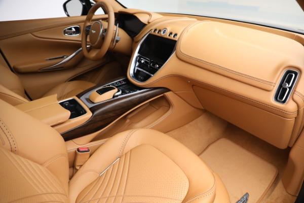 New 2021 Aston Martin DBX for sale $209,586 at Bugatti of Greenwich in Greenwich CT 06830 19