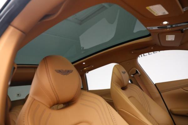 New 2021 Aston Martin DBX for sale $209,586 at Bugatti of Greenwich in Greenwich CT 06830 22