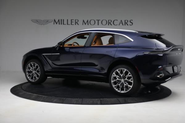 New 2021 Aston Martin DBX for sale $209,586 at Bugatti of Greenwich in Greenwich CT 06830 3