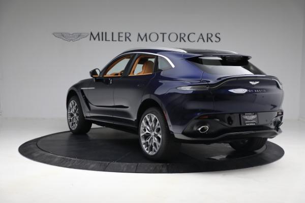 New 2021 Aston Martin DBX for sale $209,586 at Bugatti of Greenwich in Greenwich CT 06830 4