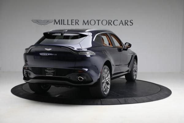 New 2021 Aston Martin DBX for sale $209,586 at Bugatti of Greenwich in Greenwich CT 06830 6