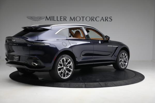 New 2021 Aston Martin DBX for sale $209,586 at Bugatti of Greenwich in Greenwich CT 06830 7