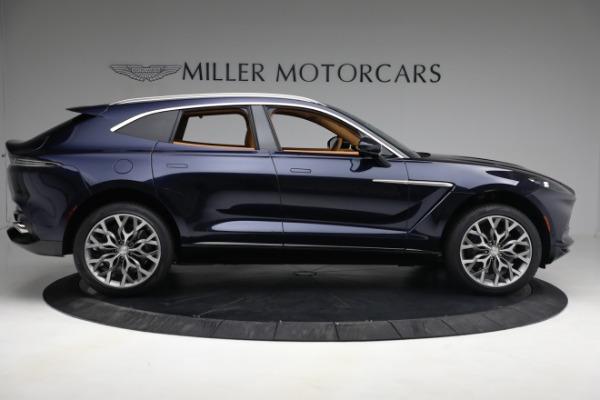 New 2021 Aston Martin DBX for sale $209,586 at Bugatti of Greenwich in Greenwich CT 06830 8