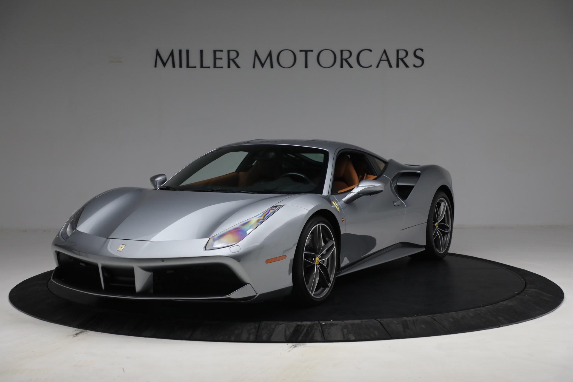 Used 2018 Ferrari 488 GTB for sale Sold at Bugatti of Greenwich in Greenwich CT 06830 1