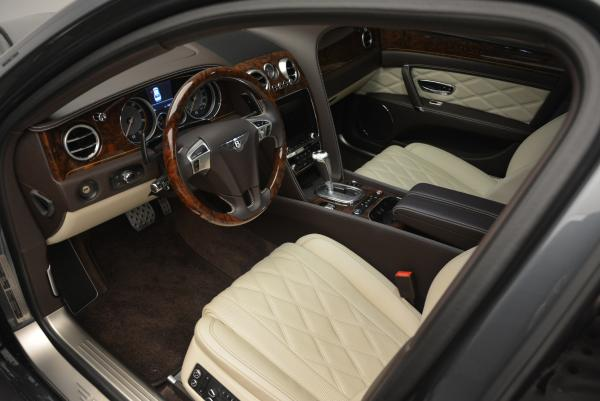 Used 2015 Bentley Flying Spur V8 for sale Sold at Bugatti of Greenwich in Greenwich CT 06830 24