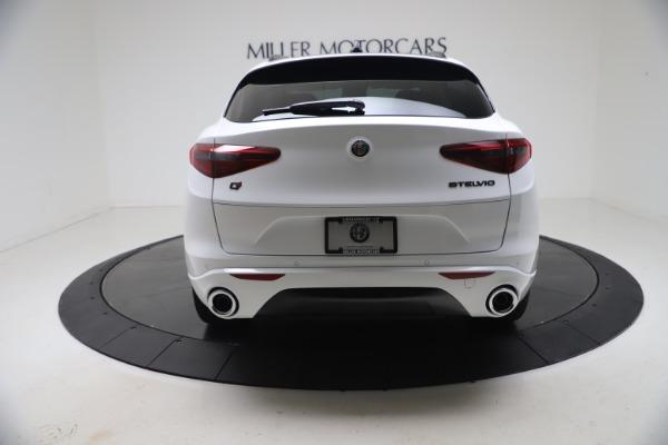 New 2021 Alfa Romeo Stelvio Ti Q4 for sale Sold at Bugatti of Greenwich in Greenwich CT 06830 6