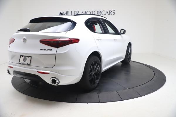 New 2021 Alfa Romeo Stelvio Ti Q4 for sale Sold at Bugatti of Greenwich in Greenwich CT 06830 8