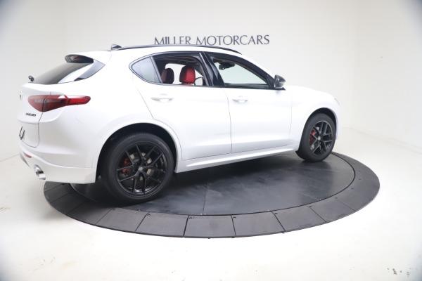 New 2021 Alfa Romeo Stelvio Ti Q4 for sale Sold at Bugatti of Greenwich in Greenwich CT 06830 9