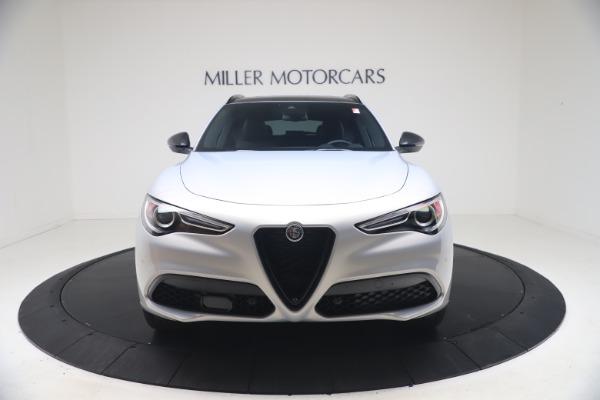 New 2021 Alfa Romeo Stelvio Ti Sport Q4 for sale Sold at Bugatti of Greenwich in Greenwich CT 06830 12