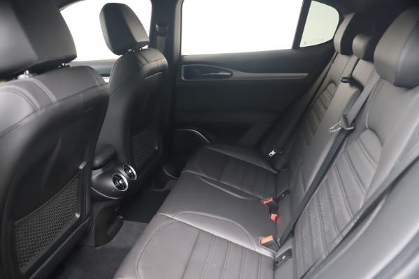 New 2021 Alfa Romeo Stelvio Ti Sport Q4 for sale Sold at Bugatti of Greenwich in Greenwich CT 06830 17