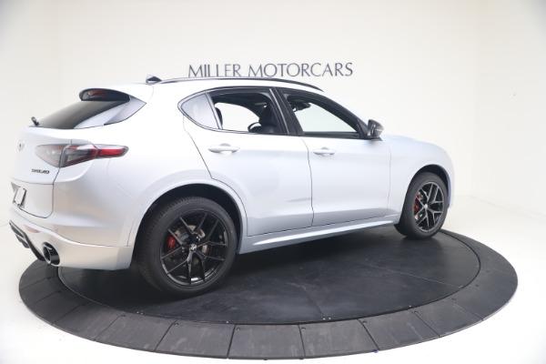 New 2021 Alfa Romeo Stelvio Ti Sport Q4 for sale Sold at Bugatti of Greenwich in Greenwich CT 06830 8