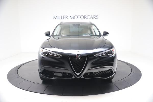New 2021 Alfa Romeo Stelvio Ti Q4 for sale $54,755 at Bugatti of Greenwich in Greenwich CT 06830 12