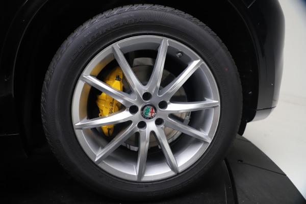 New 2021 Alfa Romeo Stelvio Ti Lusso Q4 for sale Call for price at Bugatti of Greenwich in Greenwich CT 06830 13