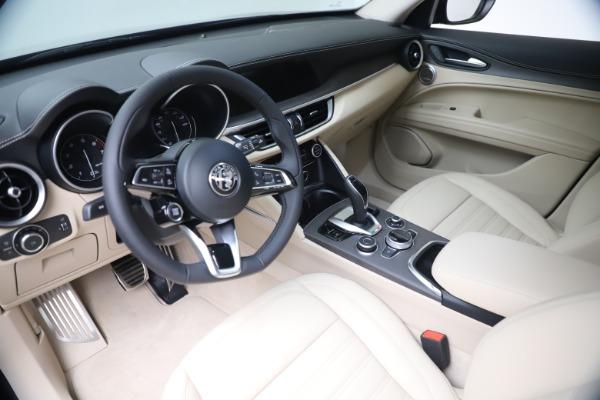 New 2021 Alfa Romeo Stelvio Ti Lusso Q4 for sale Call for price at Bugatti of Greenwich in Greenwich CT 06830 15