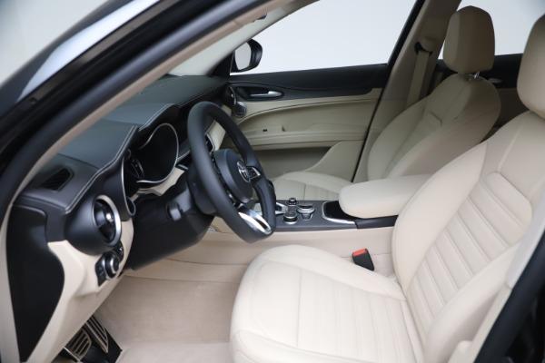 New 2021 Alfa Romeo Stelvio Ti Lusso Q4 for sale Call for price at Bugatti of Greenwich in Greenwich CT 06830 16