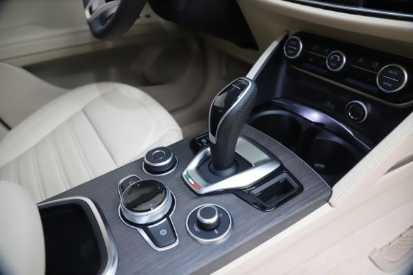 New 2021 Alfa Romeo Stelvio Ti Lusso Q4 for sale Call for price at Bugatti of Greenwich in Greenwich CT 06830 18