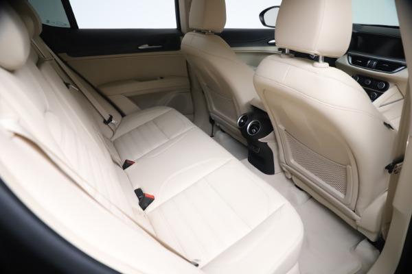 New 2021 Alfa Romeo Stelvio Ti Lusso Q4 for sale Call for price at Bugatti of Greenwich in Greenwich CT 06830 22