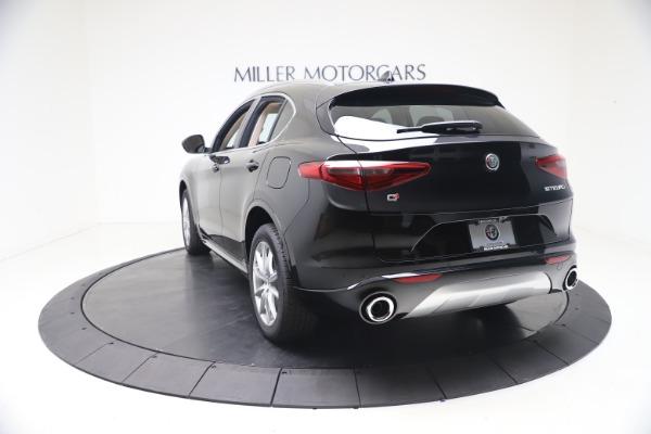 New 2021 Alfa Romeo Stelvio Ti Lusso Q4 for sale Call for price at Bugatti of Greenwich in Greenwich CT 06830 5