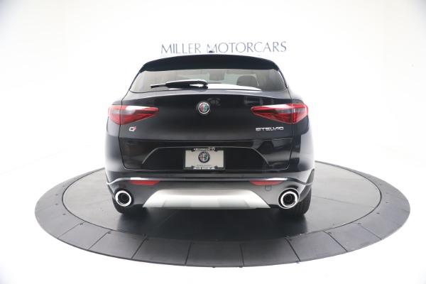 New 2021 Alfa Romeo Stelvio Ti Lusso Q4 for sale Call for price at Bugatti of Greenwich in Greenwich CT 06830 6