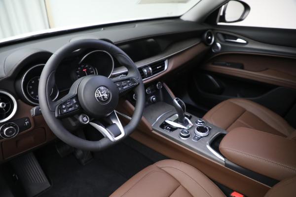 New 2021 Alfa Romeo Stelvio Ti Q4 for sale $54,840 at Bugatti of Greenwich in Greenwich CT 06830 13
