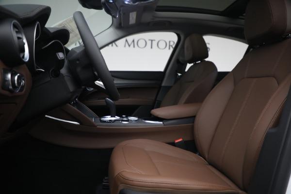 New 2021 Alfa Romeo Stelvio Ti Q4 for sale $54,840 at Bugatti of Greenwich in Greenwich CT 06830 14