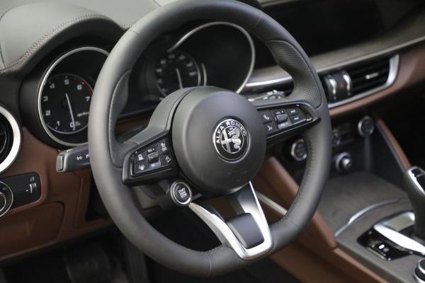 New 2021 Alfa Romeo Stelvio Ti Q4 for sale $54,840 at Bugatti of Greenwich in Greenwich CT 06830 17