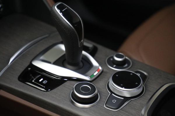 New 2021 Alfa Romeo Stelvio Ti Q4 for sale $54,840 at Bugatti of Greenwich in Greenwich CT 06830 18