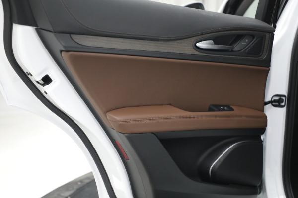 New 2021 Alfa Romeo Stelvio Ti Q4 for sale $54,840 at Bugatti of Greenwich in Greenwich CT 06830 26