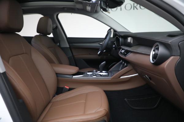 New 2021 Alfa Romeo Stelvio Ti Q4 for sale $54,840 at Bugatti of Greenwich in Greenwich CT 06830 28