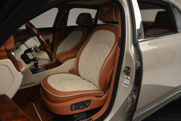 Used 2016 Bentley Mulsanne Speed for sale Sold at Bugatti of Greenwich in Greenwich CT 06830 23