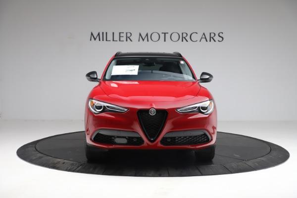 New 2021 Alfa Romeo Stelvio Q4 for sale $50,535 at Bugatti of Greenwich in Greenwich CT 06830 15