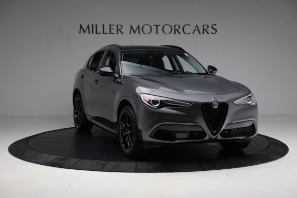 New 2021 Alfa Romeo Stelvio Ti Q4 for sale Sold at Bugatti of Greenwich in Greenwich CT 06830 11