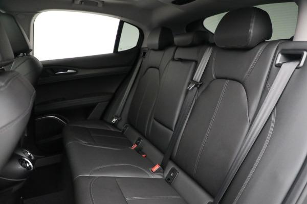 New 2021 Alfa Romeo Stelvio Ti Q4 for sale Sold at Bugatti of Greenwich in Greenwich CT 06830 23