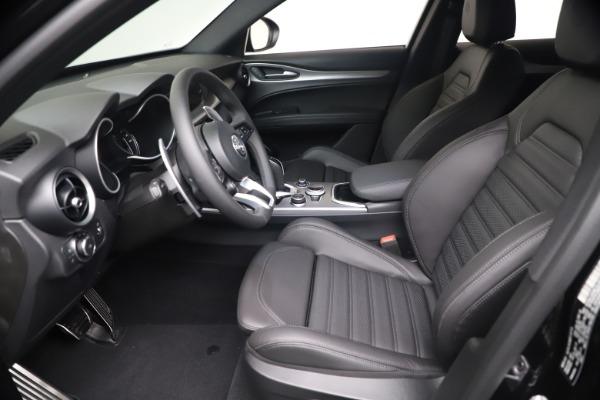 New 2021 Alfa Romeo Stelvio Ti Sport Q4 for sale $56,900 at Bugatti of Greenwich in Greenwich CT 06830 14