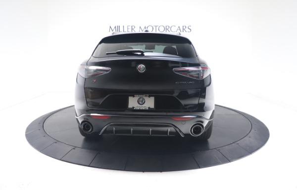 New 2021 Alfa Romeo Stelvio Ti Sport Q4 for sale $56,900 at Bugatti of Greenwich in Greenwich CT 06830 6