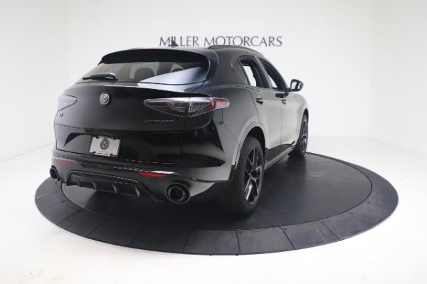 New 2021 Alfa Romeo Stelvio Ti Sport Q4 for sale $56,900 at Bugatti of Greenwich in Greenwich CT 06830 7