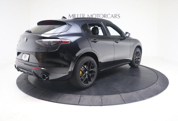 New 2021 Alfa Romeo Stelvio Ti Sport Q4 for sale $56,900 at Bugatti of Greenwich in Greenwich CT 06830 8