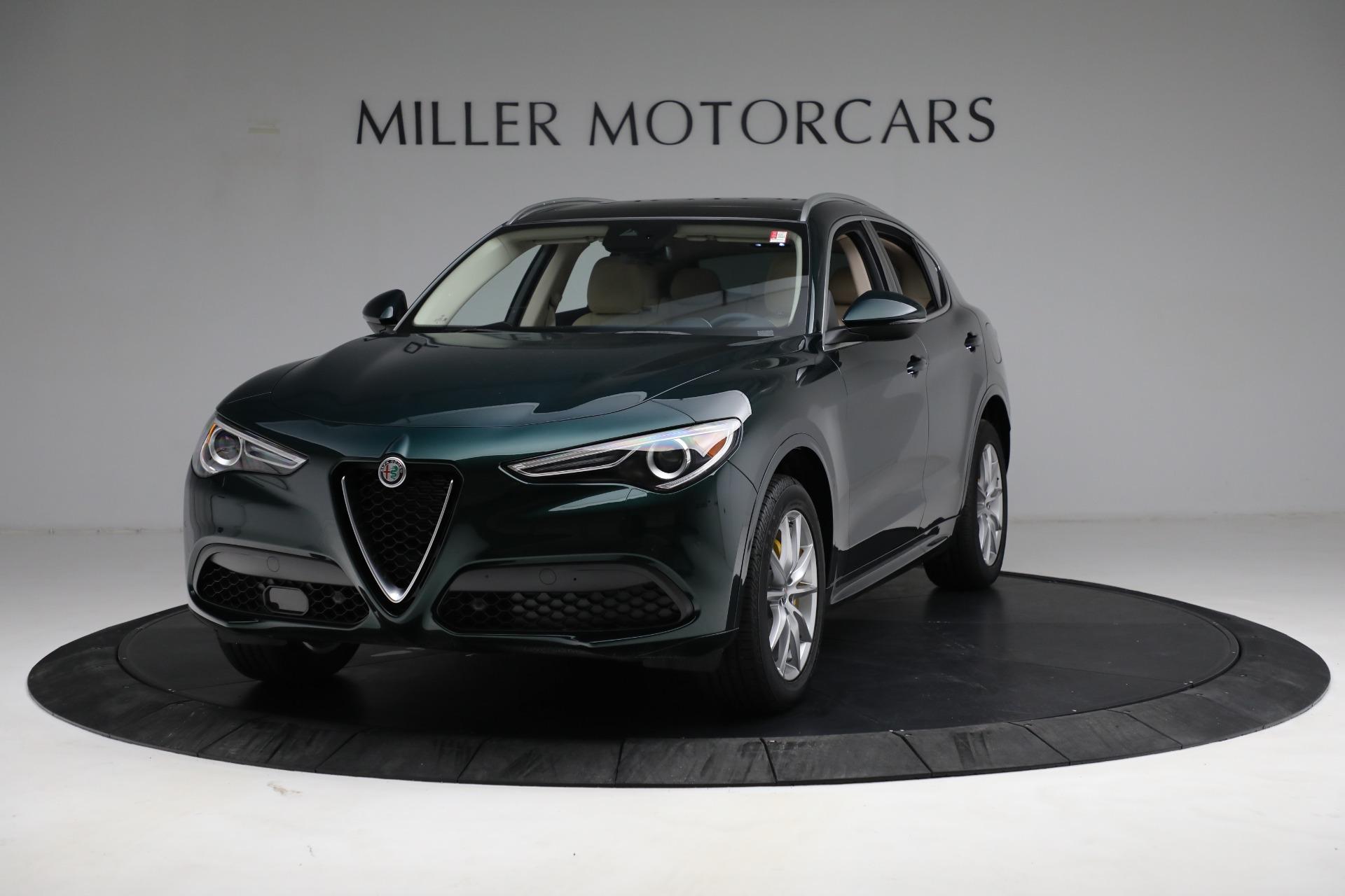 New 2021 Alfa Romeo Stelvio Ti Q4 for sale Sold at Bugatti of Greenwich in Greenwich CT 06830 1