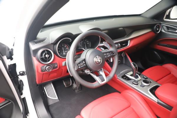 New 2021 Alfa Romeo Stelvio Ti Sport Q4 for sale Sold at Bugatti of Greenwich in Greenwich CT 06830 13